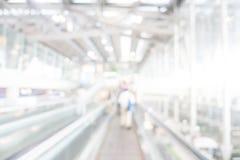 Aéroport de tache floue Photographie stock libre de droits