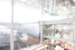 Aéroport de tache floue Images stock