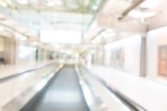 Aéroport de tache floue Photo stock
