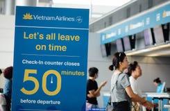 Aéroport de Tan Son Nhat dans Saigon, Vietnam Image stock