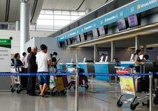 Aéroport de Tan Son Nhat dans Saigon, Vietnam Photographie stock libre de droits