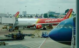Aéroport de Tan Son Nhat dans Saigon, Vietnam Photos stock
