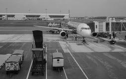 Aéroport de Taoyuan à Taïpeh, Taïwan Photographie stock