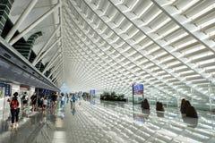 Aéroport de Taoyuan photographie stock libre de droits