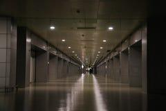 Aéroport de tard Photos libres de droits