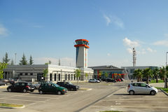 Aéroport de Tirana Photographie stock