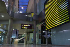 Aéroport de Valence, Espagne Photos stock