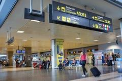 Aéroport de Valence, Espagne Photographie stock