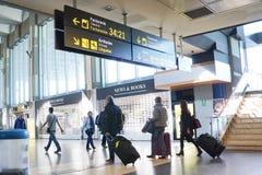 Aéroport de Valence, Espagne Images stock