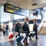 Aéroport de Valence, Espagne Photo libre de droits