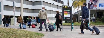 Aéroport de Valence, Espagne Images libres de droits