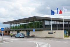 Aéroport de vallée de Brive Dordogne Images libres de droits