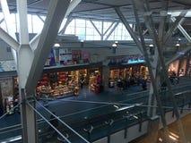 Aéroport de Vancouver dans le Canada à l'intérieur Photos libres de droits