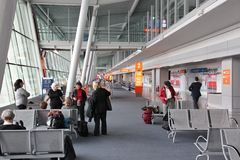 Aéroport de Varsovie Chopin Image stock