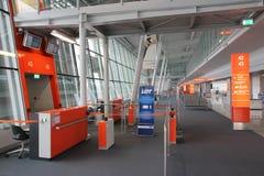 Aéroport de Varsovie, Pologne Photos stock