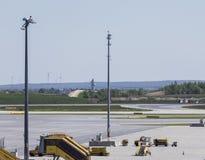 Aéroport de Vienne Photos stock
