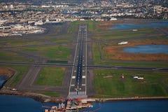 Aéroport de ville de ci-avant Photos libres de droits