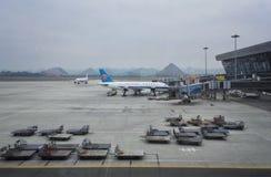 Aéroport de ville de Guiyang Photos stock
