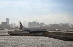 Aéroport de ville de Londres Images stock