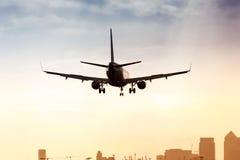 Aéroport de ville de Londres Photos libres de droits