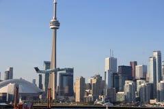 Aéroport de ville de Toronto, Canada Images stock