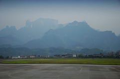 Aéroport de Zhangjiajie Photographie stock libre de droits