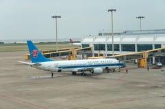 Aéroport de Zhuhai - arrêtez l'aéroport Photo stock