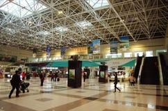 Aéroport de Zhuhai Jinwan en Chine Photographie stock libre de droits