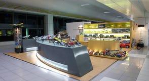 Aéroport de Zhuhai - système de modèle d'aéronefs Photographie stock