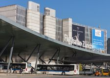 Aéroport de Zurich Photos stock