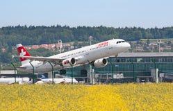 Aéroport de Zurich Photographie stock