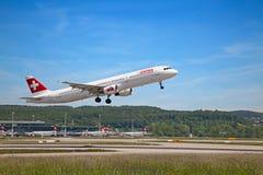Aéroport de Zurich Image stock