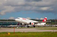Aéroport de Zurich Image libre de droits
