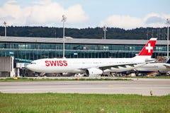 Aéroport de Zurich Photographie stock libre de droits