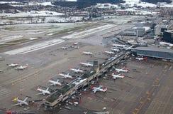 Aéroport de Zurich Photo stock