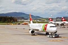 Aéroport de Zurich, Suisse Image stock