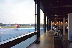Aéroport de Zurich, Suisse Photographie stock libre de droits