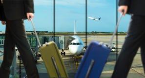 Aéroport des affaires Images stock