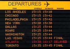 Aéroport des Etats-Unis Images libres de droits