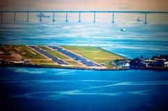 Aéroport domestique Images libres de droits