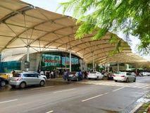 Aéroport domestique de Mumbai - terminal 1A Photographie stock libre de droits