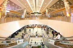 Aéroport Domidedovo à l'intérieur Photographie stock libre de droits
