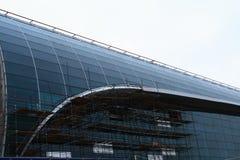 Aéroport Domodedovo Images libres de droits
