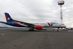 Aéroport Domodedovo en 2016 dans la ville de Moscou Photos libres de droits