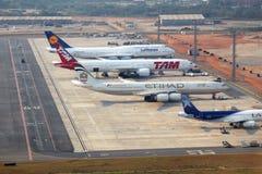 Aéroport du Brésil Photographie stock