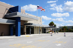 Aéroport du comté de Charlotte Image libre de droits