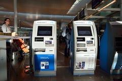 Aéroport du couillon Barcelone-EL Images libres de droits