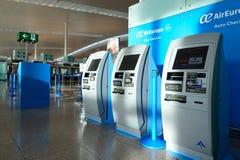 Aéroport du couillon Barcelone-EL Photographie stock libre de droits