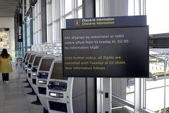 AÉROPORT DU DANEMARK COPENHAGUE Photos stock