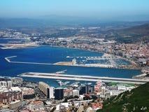 Aéroport du Gibraltar Images libres de droits